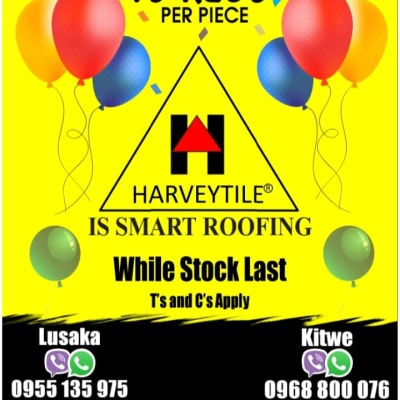 Special discounts on roofing tiles image