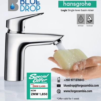 Hansgrohe Logis single lever basin mixer on special offer image