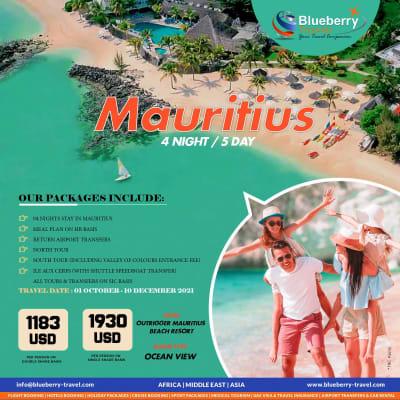 4 Nights / 5 day Mauritius Hotel Outrigger Mauritius Beach Resort image