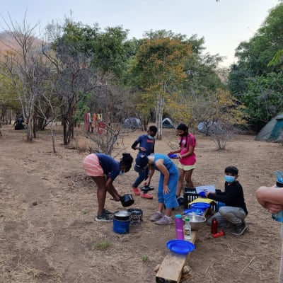 """Leadership"""" and """"Challenge"""" at Chikwenya Campsite and Trails image"""