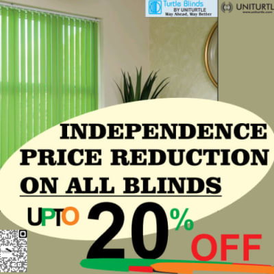 Get upto 20% off all blinds this October! image