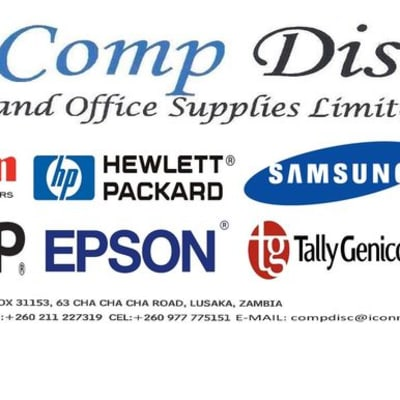 HP and Toshiba desktops and laptops, Canon and Samsung printers image