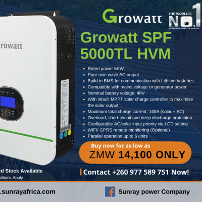 Growatt Inverter Spring promotion now! image