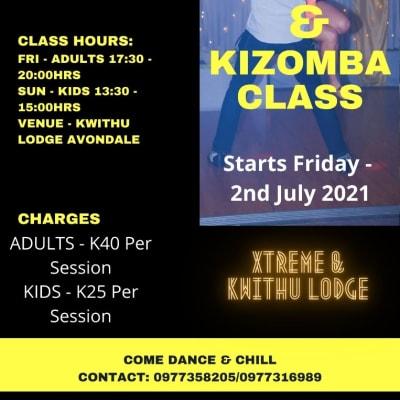 Salsa & Kizomba dance lessons image