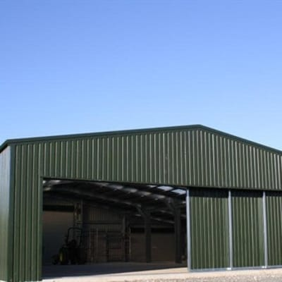 Have your steel warehouse fabricated image