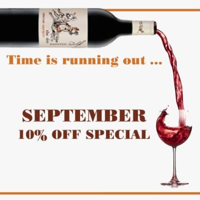 Save 10% on every bottle you buy in September image