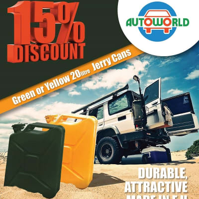 15% off 20 Liters Jerry Cans image