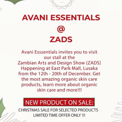 Christmas sale for selected products at Avani Essentials image