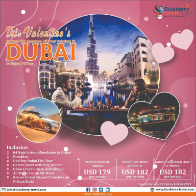 This Valentine's reveal the essence of your relation in Dubai. 04 Nights/05 days image