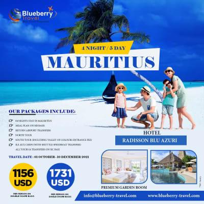 4 Nights / 5 day Mauritius  image