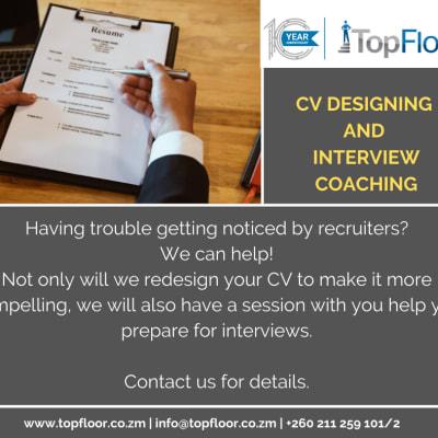 CV design services! image