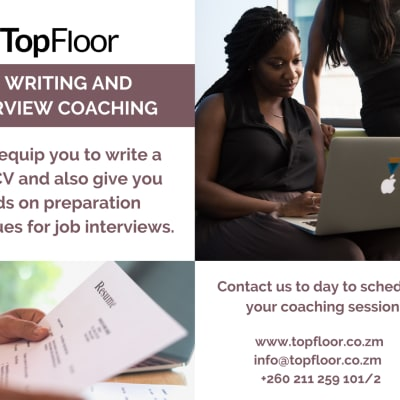 CV writing and interview coaching image