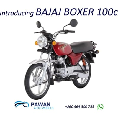 Introducing BAJAJ Boxer 100cc image