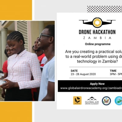 'Drone Hackathon Zambia'- a Virtual Business Competition for Young Zambian Entrepreneurs image