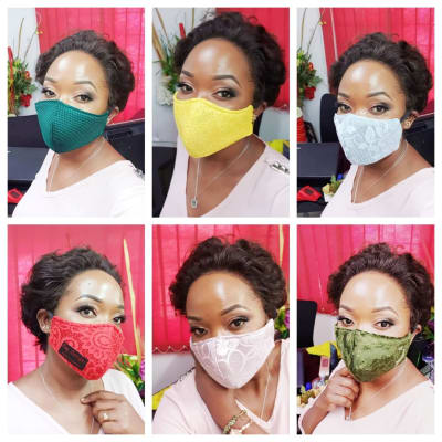 Washable masks to suit your outfits image