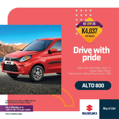 Drive the 800cc Suzuki Alto with pride image