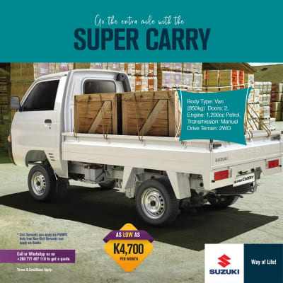 Go the extra mile with the Super Carry image