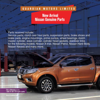 New arrivals on Nissan genuine parts image