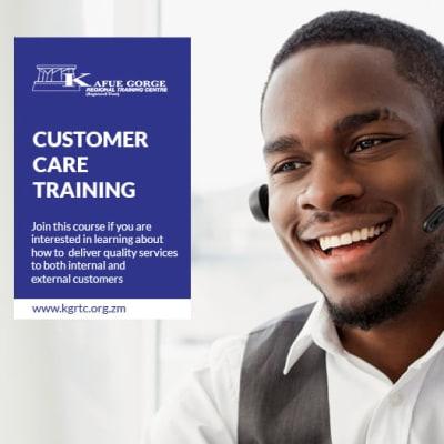 Customer service training image