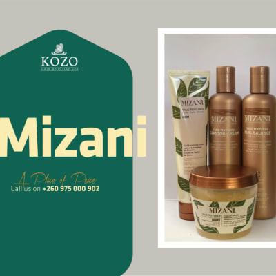 Mizani range for both treated and natural hair image