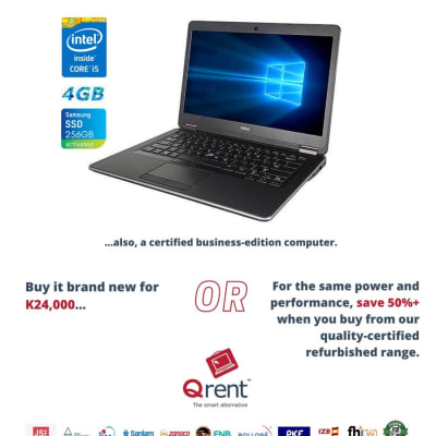 Buy your business-edition refurbished computers for half the price yet same performance as brand new. image