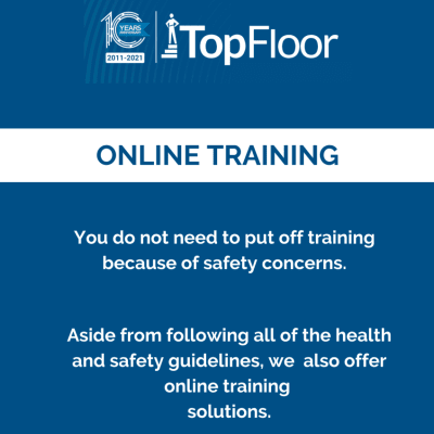 Training can be done online or at a venue of your choice image