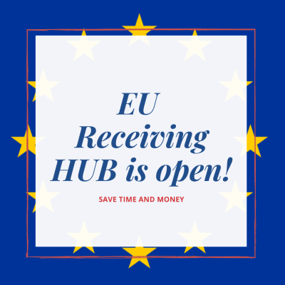 NEW – iShop & Online Express EU Receiving Hub is open! image