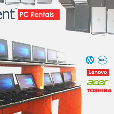 Laptops available for short term or long term hire image