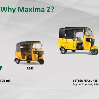 Introducing to you Bajaj Maxima, an upgrade of Bajaj Auto Rickshaw image