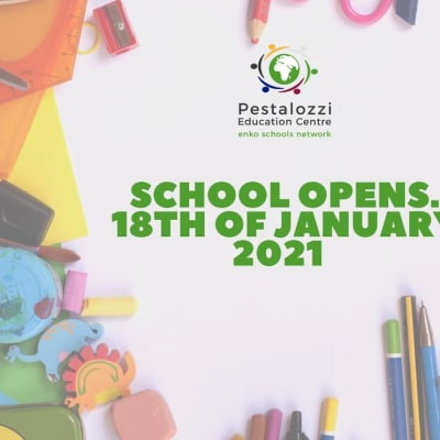 School opens 18th January 2020 image