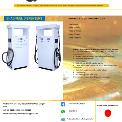 EHAD fuel dispensers image