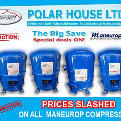 Special deals on Maneurop compressors image