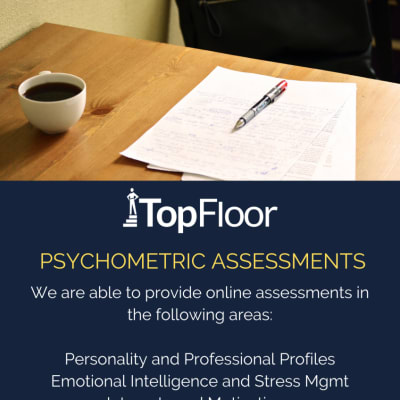 Engage TopFloor for online Psychometric tests image