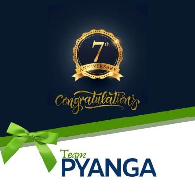 Pyanga Cleaning Services celebrates 7th Anniversary! image