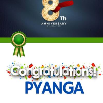 Pyanga Cleaning Services celebrates 8th Anniversary! image