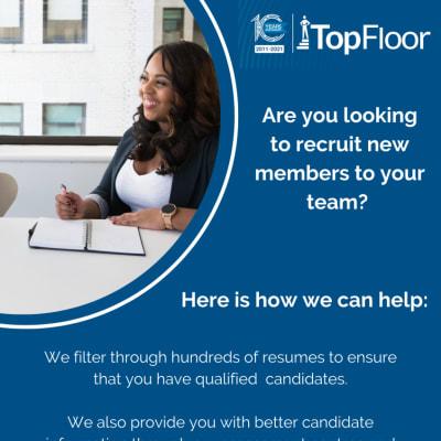 Let TopFloor Zambia handle your next recruitment process image