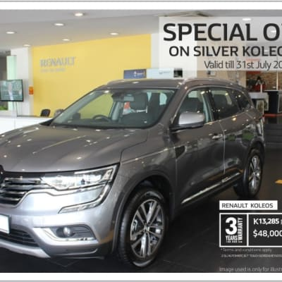 Special offer on Silver Koleos only  image