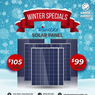 Special offer on Trinasolar panels  image