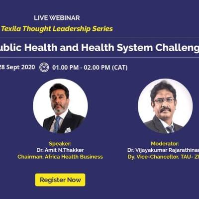 Webinar: At the Front Line: Public Health and Health System image