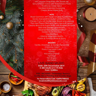 The Retreat at Roma - Christmas Menu  image