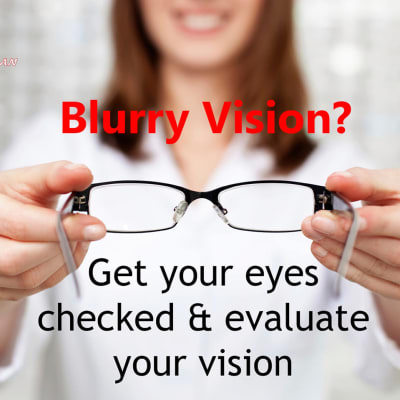 Facing blurred vision? It's time for an eye check up  image