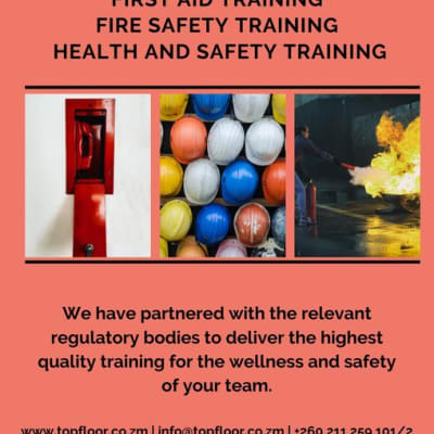 Workplace fire safety training image