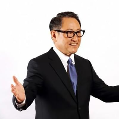 Toyota President Akio Toyoda honoured as the 2021 World Car Person of the Year image