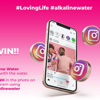 Take a selfie with Umoyo's Alkaline Water and stand a chance to win!! image