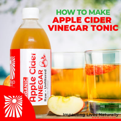 If you want to do something good for your body, drink this apple cider vinegar tonic image