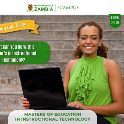 Find out today: What can you do With a Master's in Instructional Technology? image