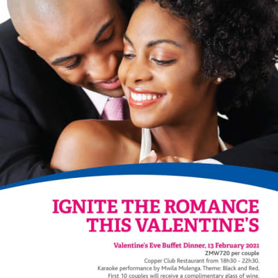 Ignite the romance this Valentine's at Garden Court Kitwe image