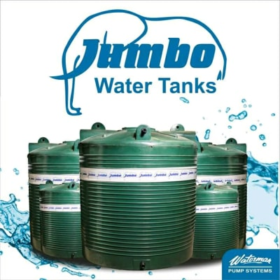 Jumbo water tanks image