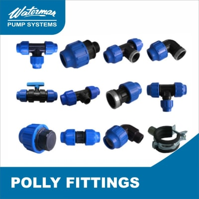 Poly pipes and polly fittings readily available image