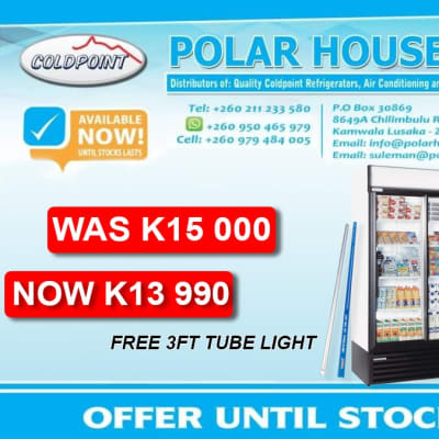 Special offer on 885 litres sliding double door fridge image